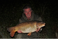 Dave with a nice common on the first night of a three day trip on ASL 26/08/15.