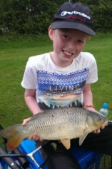 Pellet fished on the pole accounted for this carp for Hayden Sharp in 2014 from Bradley Green.