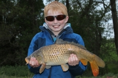 May 2013 saw Hayden Sharp amongst the carp at Alvechurch 1 including this nice common.