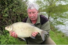 Dave (bazz) Barry with a 7lb+ bream fom ASL on May day 2016. Part of a 21 fish catch with 5 over 7 and only 2 under 5lb.
