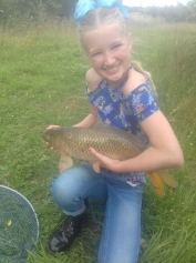 This is Devon McDaid Sunday 9th July, Alvechurch. Common carp caught on paste.